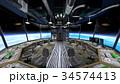 宇宙船 宇宙 sfのイラスト 34574413