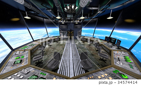 宇宙ステーション 34574414