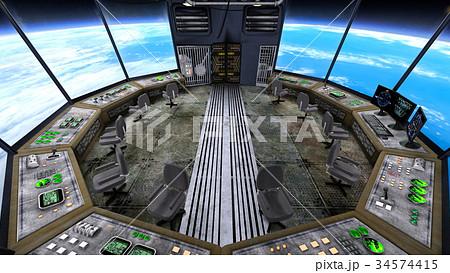 宇宙ステーション 34574415