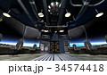 宇宙船 宇宙 sfのイラスト 34574418