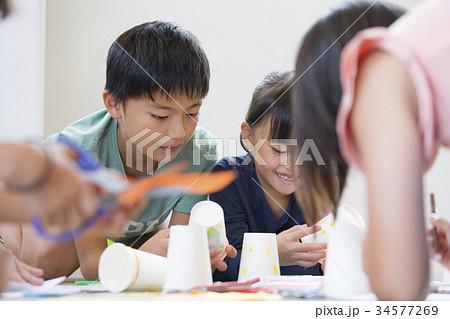 小学生 図画工作  34577269