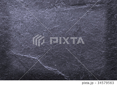 Black stone old wall texture 34579563