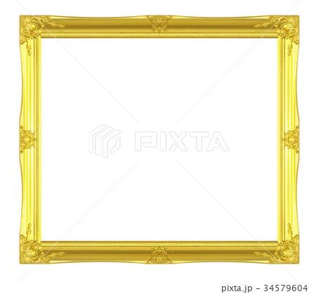 antique golden frame 34579604