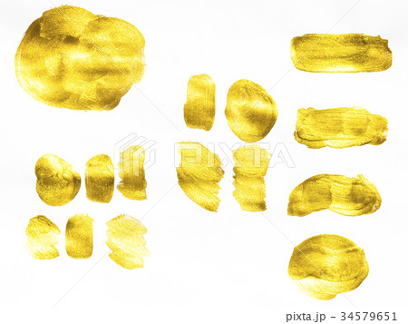 Gold watercolor texture 34579651