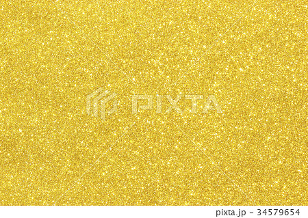 Shiny hot yellow gold foil 34579654