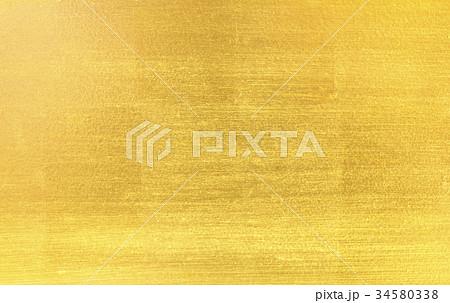 Shiny yellow leaf gold foil 34580338