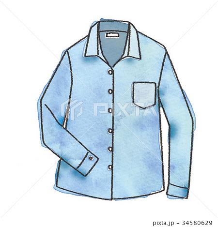 シャツのイラスト 34580629