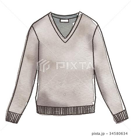 セーターのイラスト 34580634
