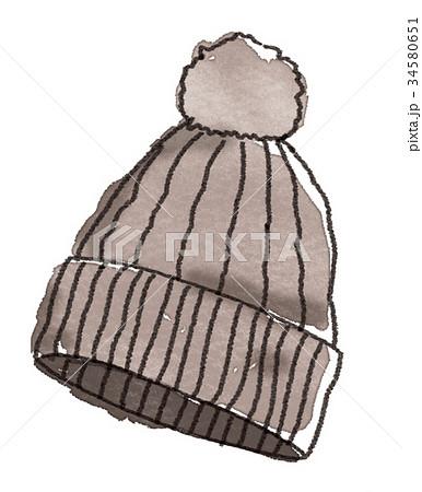 帽子のイラスト 34580651