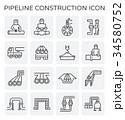 工事 建設 アイコンのイラスト 34580752