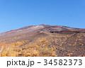 風景 富士山 富士宮口の写真 34582373