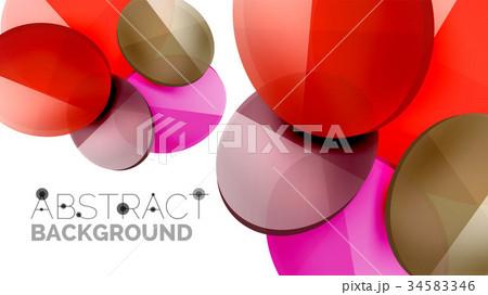 modern geometric presentation backgroundのイラスト素材 34583346