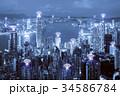 都会 都市 ネットワークの写真 34586784