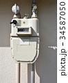 ガス メーター 計器の写真 34587050