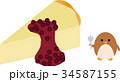 チーズケーキとペンギン 34587155