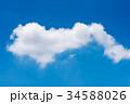 くも 雲 ホワイトの写真 34588026