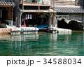 舟屋 伊根町 伊根の舟屋の写真 34588034
