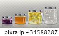 ガラス ガラス製 つぼのイラスト 34588287