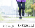 女性 フィットネス ランニングの写真 34589118
