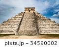 チチェンイッツァのピラミッド 34590002