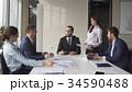 Creative business team meeting in modern start up 34590488
