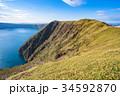 摩周湖 秋 湖の写真 34592870
