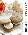 マシュマロクッキーサンド 34595330