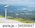 大室山 双眼鏡 伊豆半島の写真 34595647
