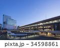 仙台駅 駅前広場 ペデストリアンデッキの写真 34598861