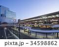 仙台駅 駅前広場 ペデストリアンデッキの写真 34598862
