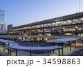 仙台駅 駅前広場 ペデストリアンデッキの写真 34598863