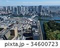 築地 市場 ビル群の写真 34600723