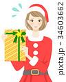 プレゼント 女性 トラブルのイラスト 34603662