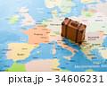 世界地図 旅行 海外旅行の写真 34606231
