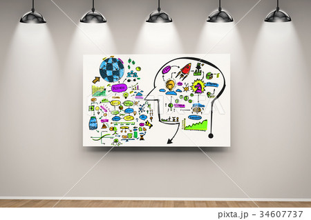 colorful business planの写真素材 [34607737] - PIXTA