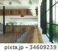 部屋と窓 34609239