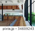 部屋と窓 34609243