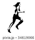 女性ランナー 34619066