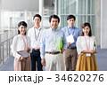 ビジネスマン ビジネスウーマン チームの写真 34620276