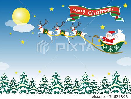 クリスマス/サンタクロース1 34621398