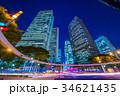 東京 新宿ビル街の夜景 34621435