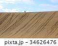 砂丘 鳥取砂丘 砂の写真 34626476