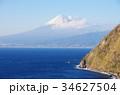 富士山 海 風景の写真 34627504