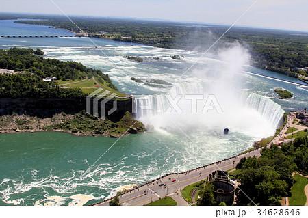 niagara falls canadaの写真素材 34628646 pixta
