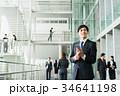 スマートフォン ビジネスマン ビジネスの写真 34641198