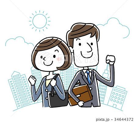 ビジネス:男女 34644372