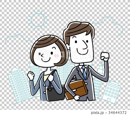 ธุรกิจ: ชายและหญิง 34644372