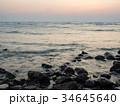 美麗的日落海邊 34645640