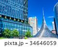 《愛知県》名古屋駅前・都市風景 34646059
