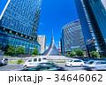 《愛知県》名古屋駅前・都市風景 34646062